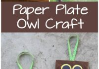 Paper Plate Owl Craft for Kids - Frugal Fun For Boys and Girls