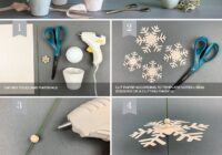 Paper Snowflake Trees for Your Holiday Décor - Lia Griffith