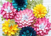 DIY Paper Flowers That'll Look Gorgeous at All Your Warm Weather Parties