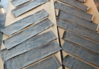 How to Create Faux Wood Planks for Paper Bag Flooring- Part 3 -